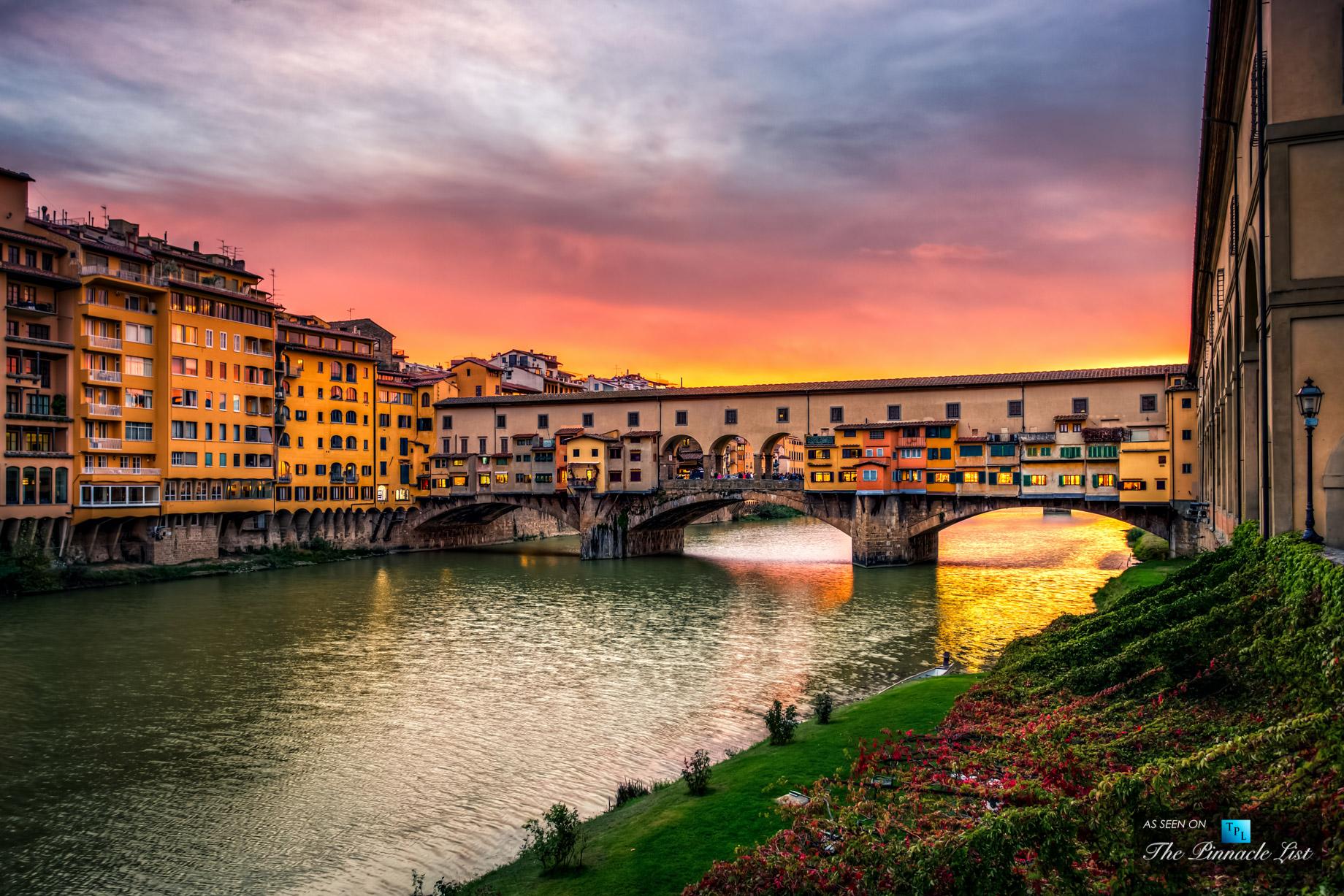 Nice Ponte Vecchio Bridge