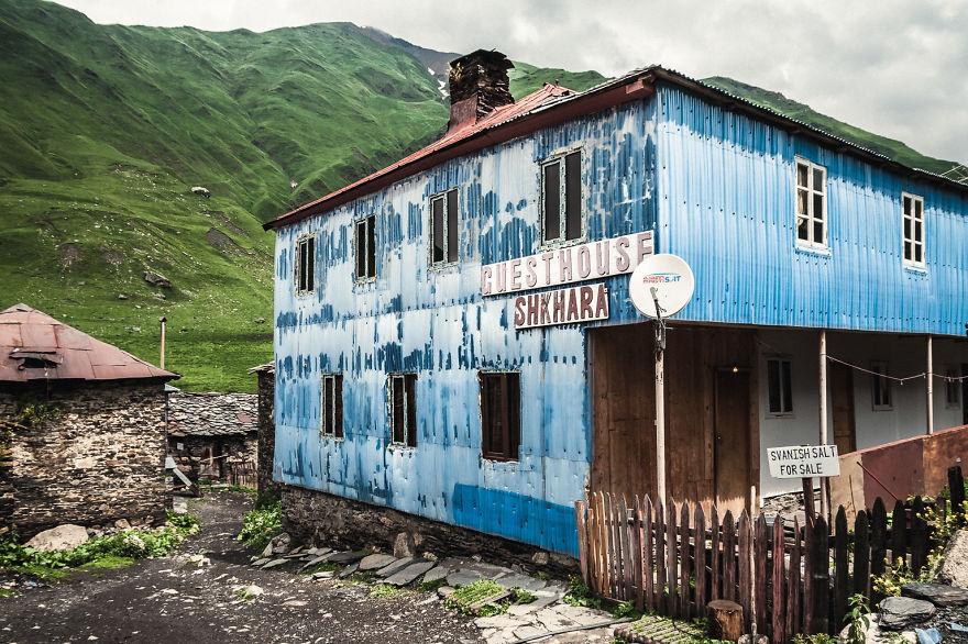 Beautiful Caucasus Mountains