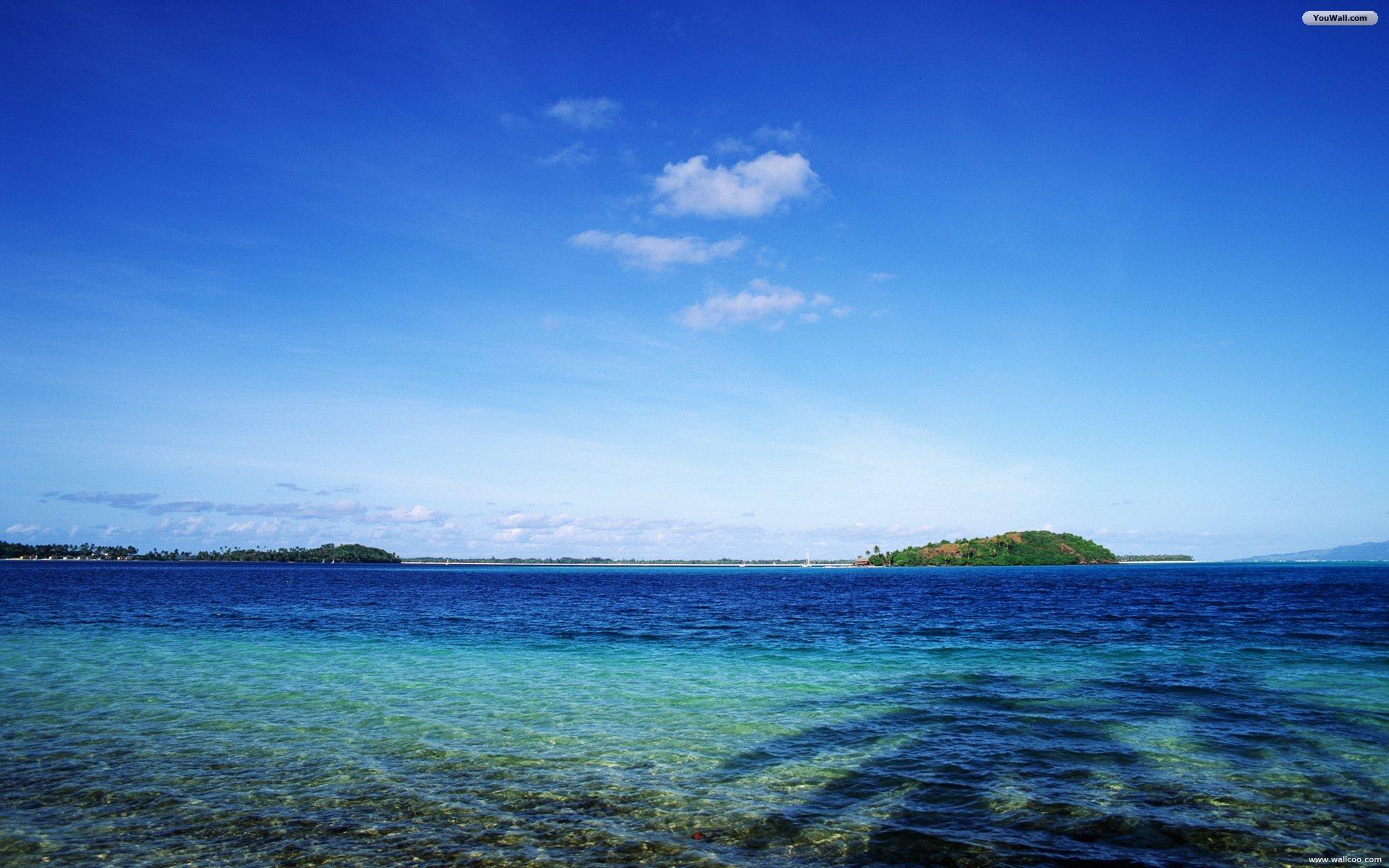 Cool Blue Sea Image