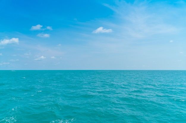 Free Blue Sea Image