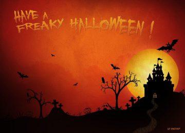 Widescreen Halloween Background