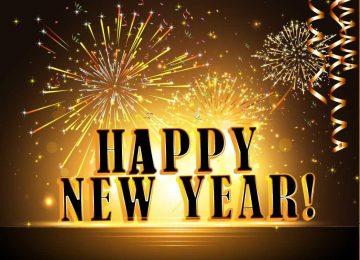 3D Happy New Year