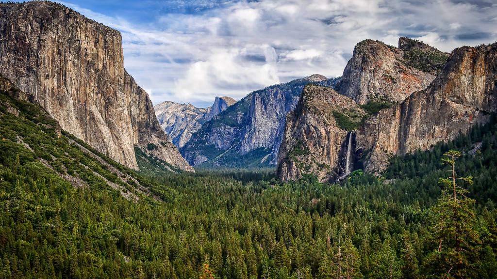 Clouds Yosemite Valley