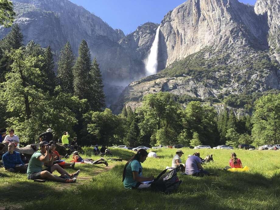 Mountain Yosemite Valley
