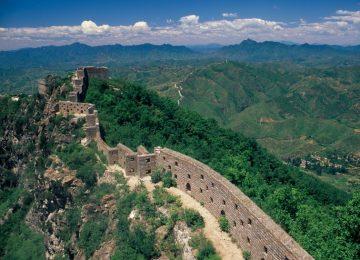 Beautiful Great Wall of China Photo