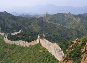 Green tree Great Wall of China