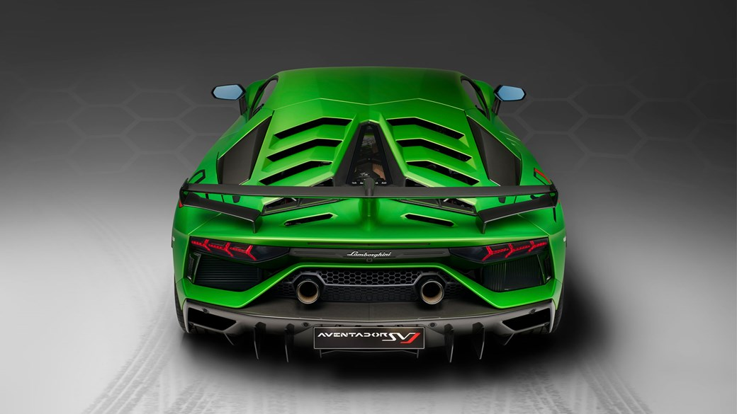 Amazing Lamborghini Aventador SVJ