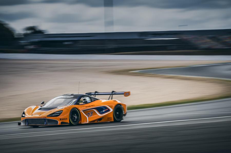 Amazing McLaren 720S GT3