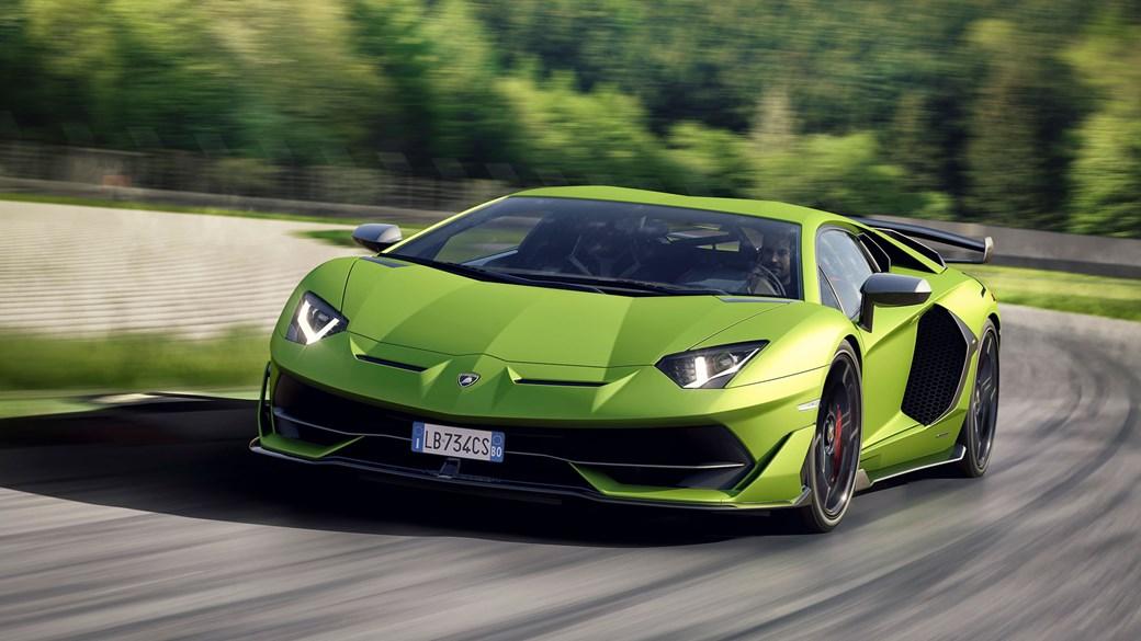 Beautiful Lamborghini Aventador SVJ