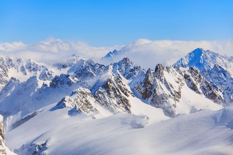 Beautiful Snow Mountains