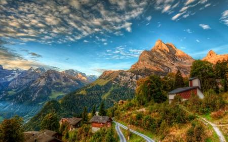 Beautiful Swiss Alps Wallpaper