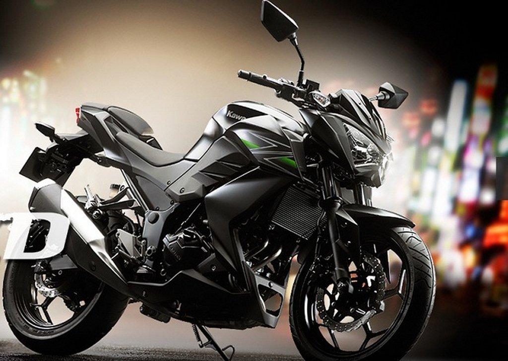 Black Kawasaki Z400