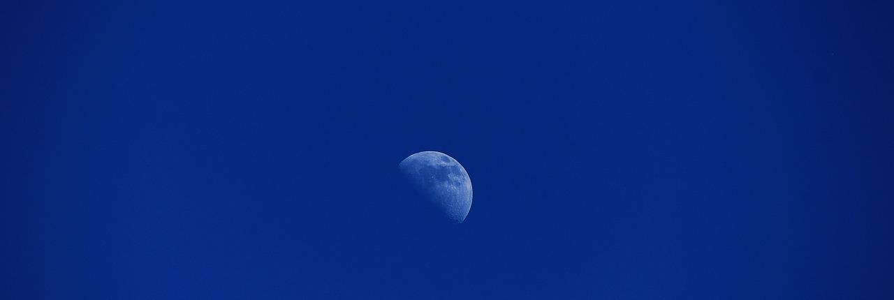 Blue Half Moon Image