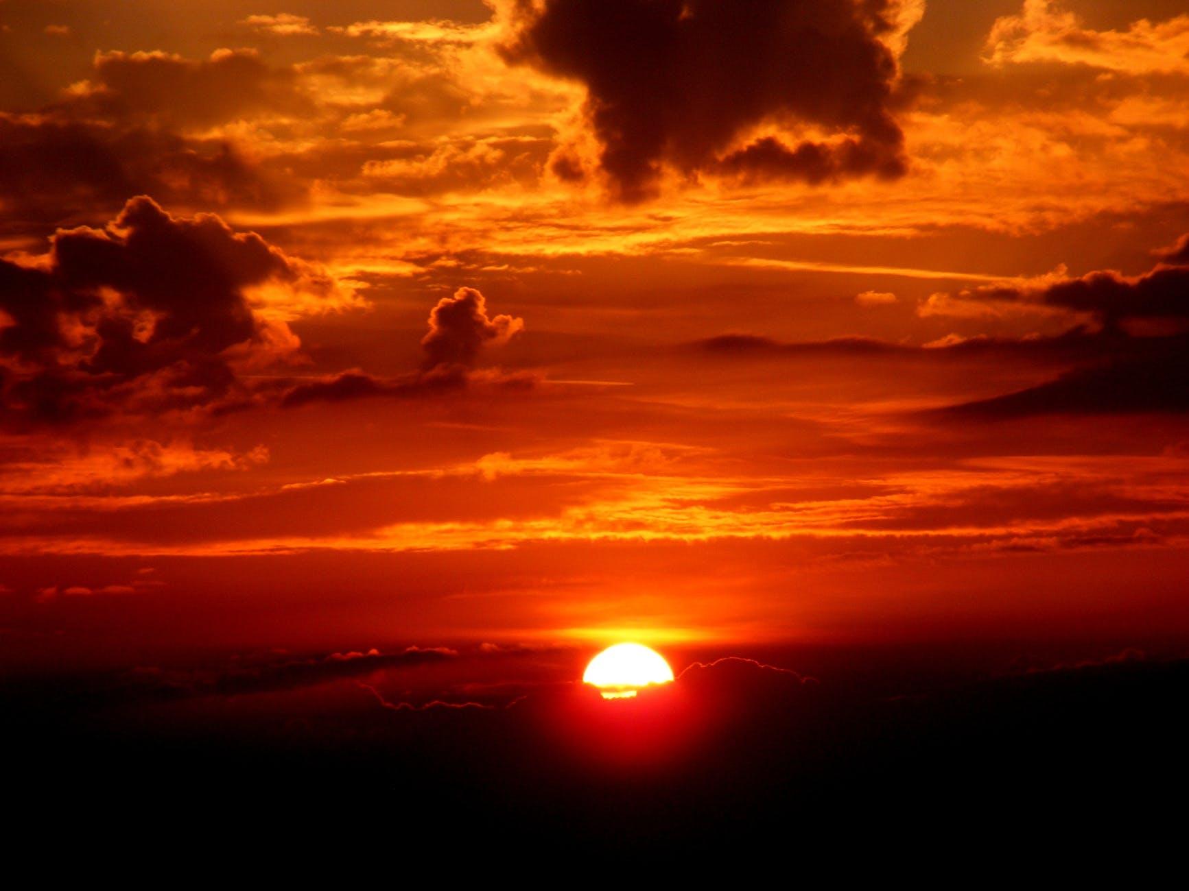 Landscape Sunset Image
