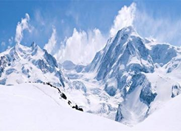 Natural Snow Mountains