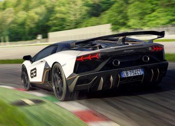 Nice Lamborghini Aventador SVJ