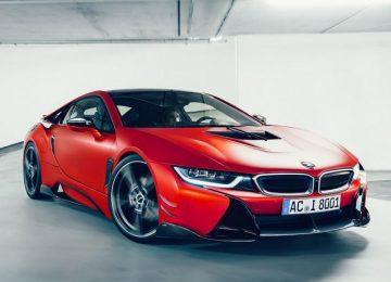 Red AC Schnitzer ACS8 BMW