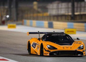 Yellow McLaren 720S GT3