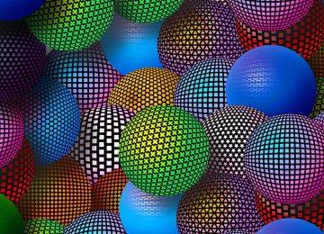 3d image balls
