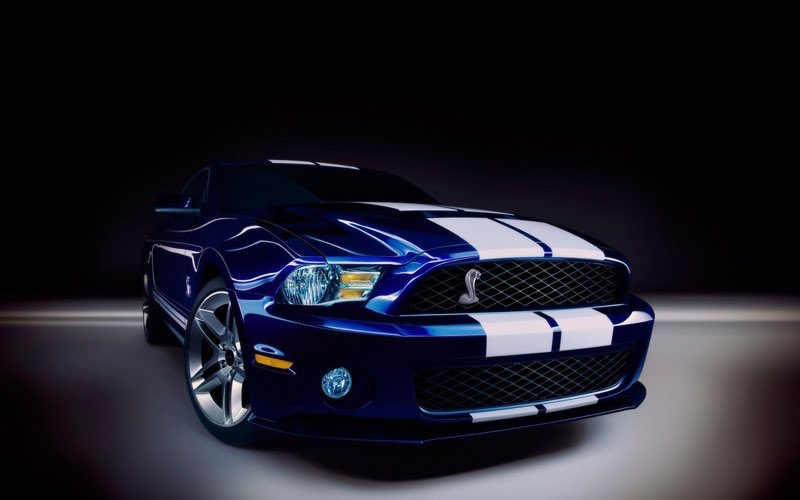 Blue HD Car Wallpaper