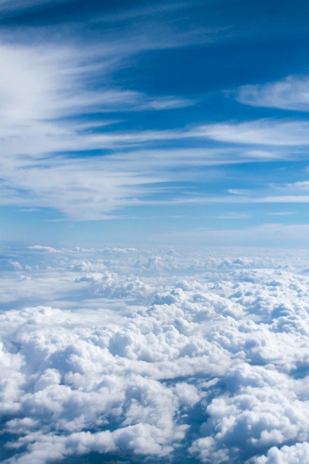 Widescreen Clouds Wallpaper