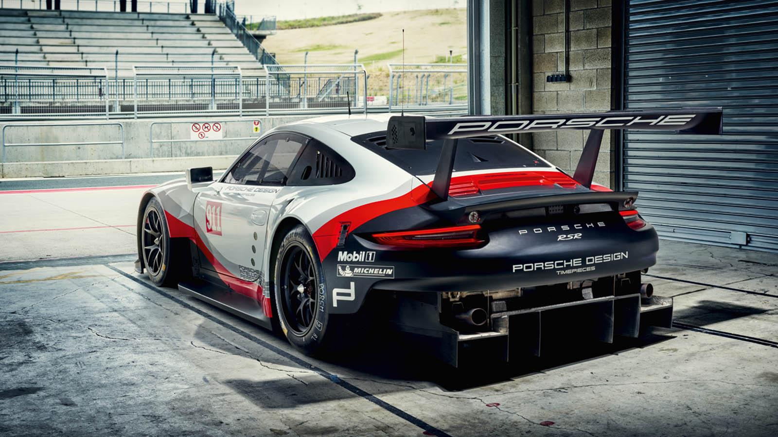 Back Side Porsche 911 RSR