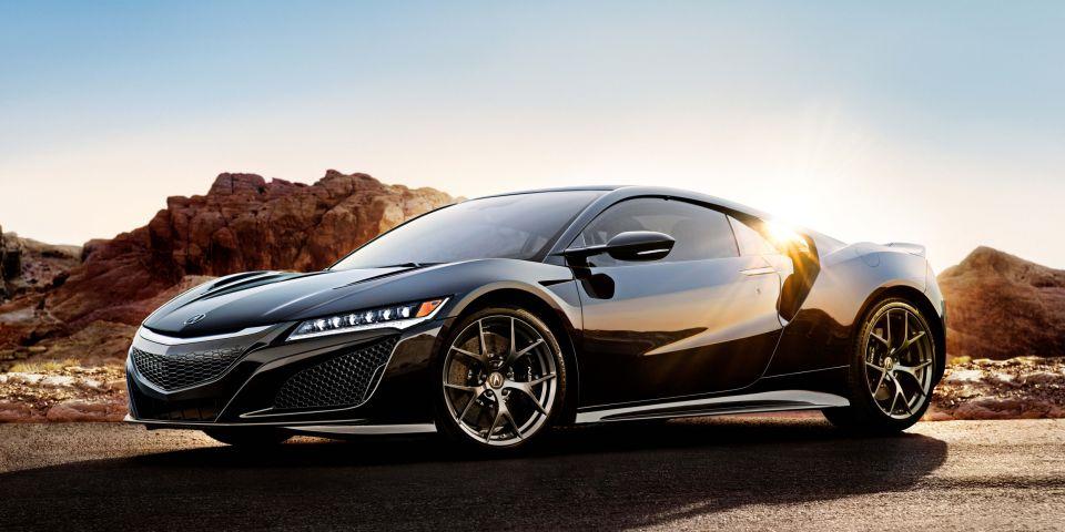 Black Acura NSX