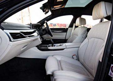 Interior BMW 745e M Sport