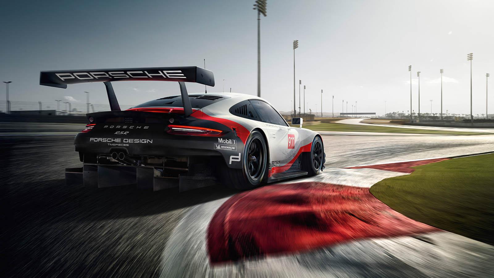Stunning Porsche 911 RSR