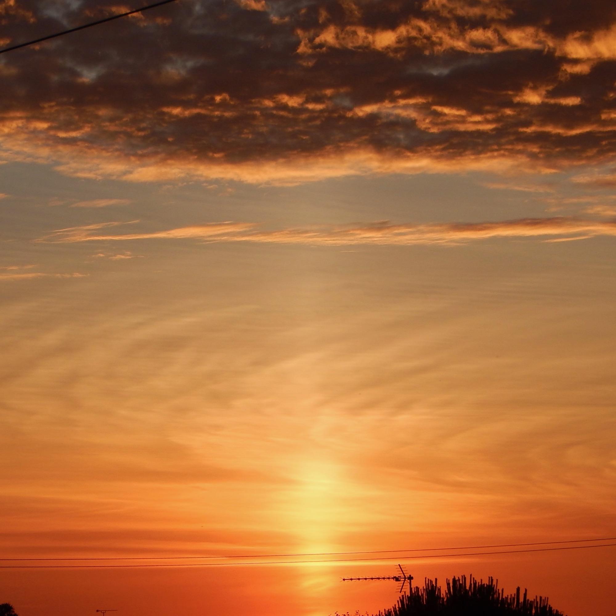 Widescreen Sunset