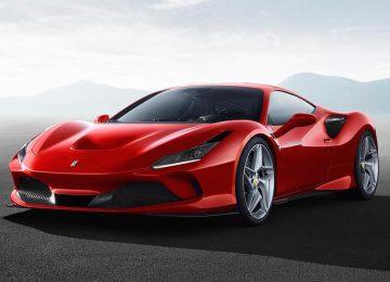 Beautiful Ferrari F8 Tributo