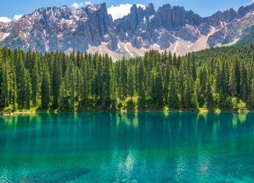 Cool Karersee Lake