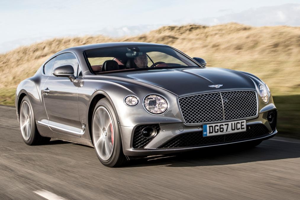Grey Bentley Continental GT