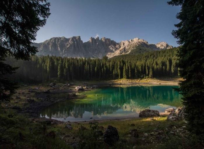 HD Karersee Lake
