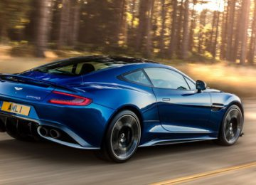 Nice Aston Martin Vanquish