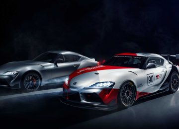Nice Toyota GR Supra GT4