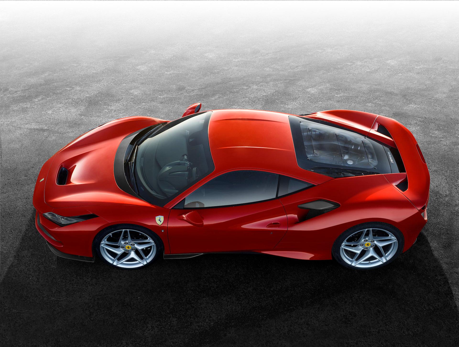 Red Ferrari F8 Tributo