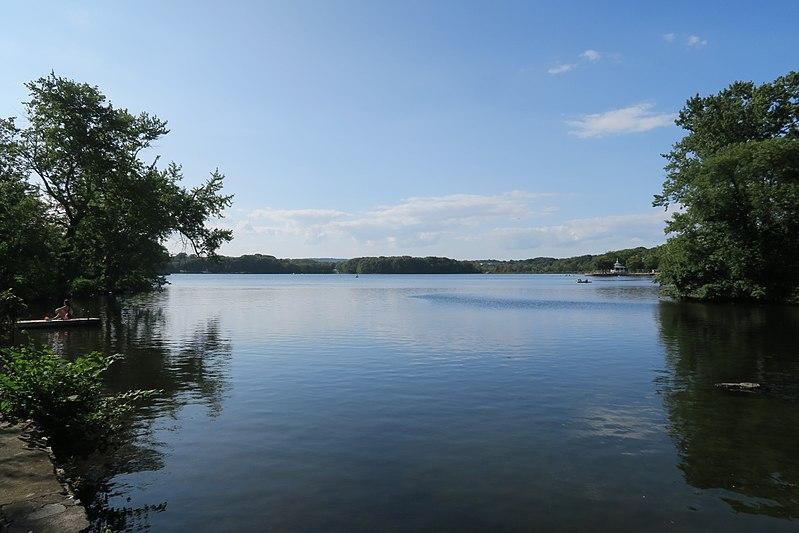 Super Sunset Lake