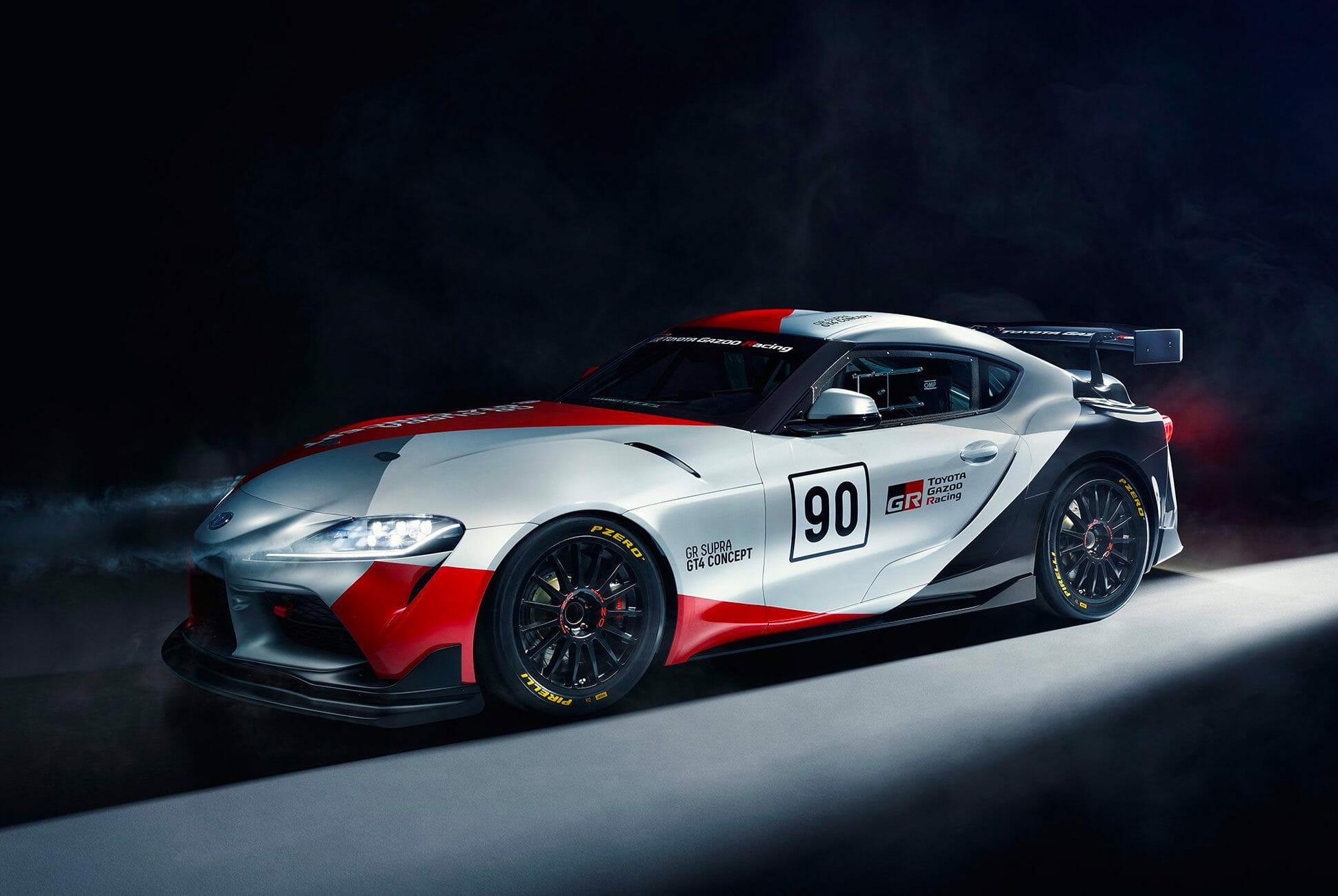 Top Toyota GR Supra GT4