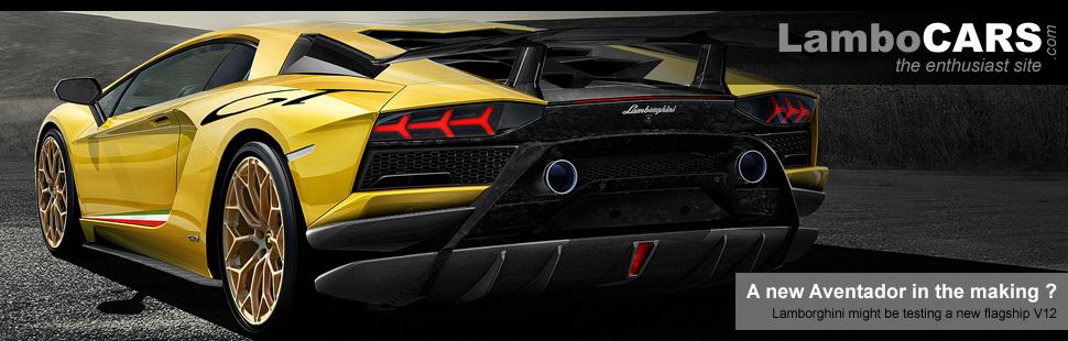 Yellow Lamborghini Aventador