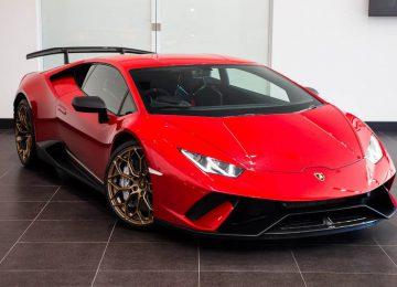 2018 Red Lamborghini Huracan