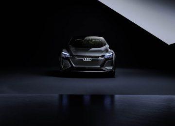 Black Audi AI ME