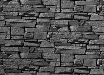 Black HD Stone Wallpaper