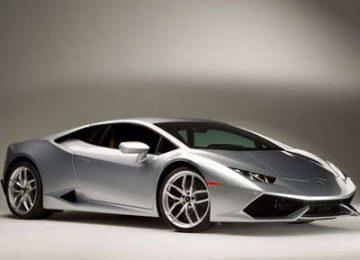 Grey Lamborghini Huracan