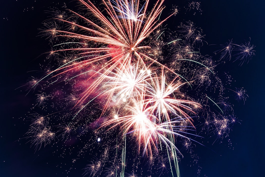 Stunning Fireworks Wallpaper