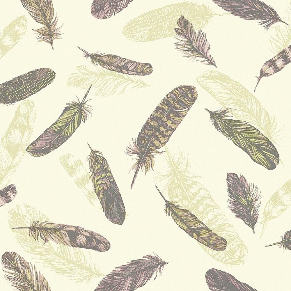 Super Feather Wallpaper