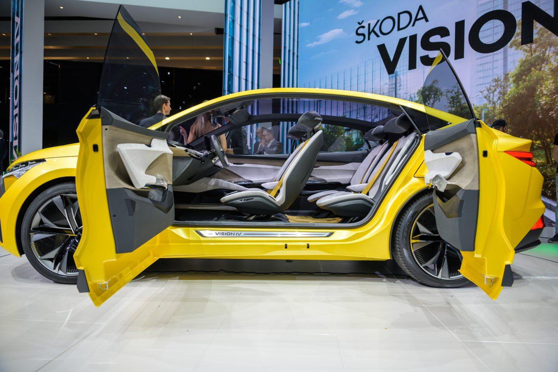 Wonderful Skoda Vision iV