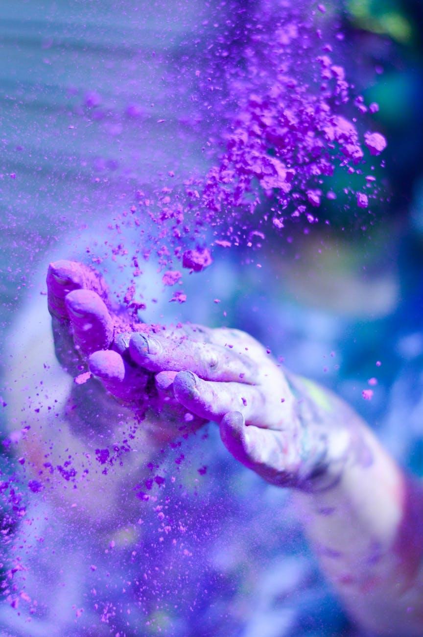 Amazing Violet Wallpaper