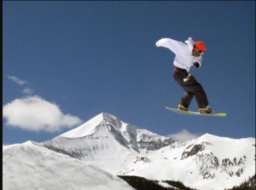 Beautiful Extreme Snowboarding