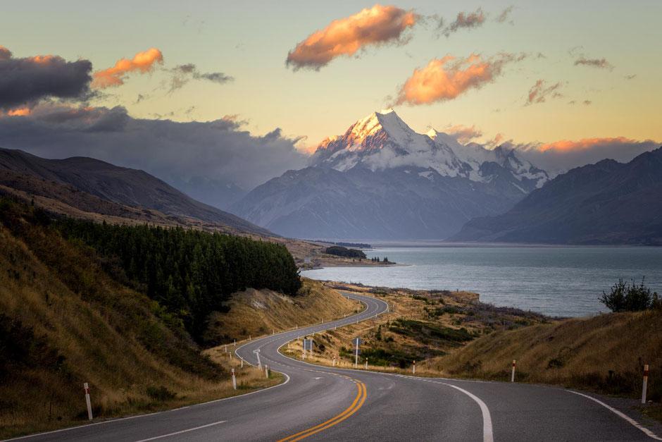 Landscape Mount Cook